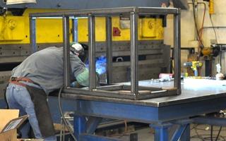 ISC Machine Frame Fabrication